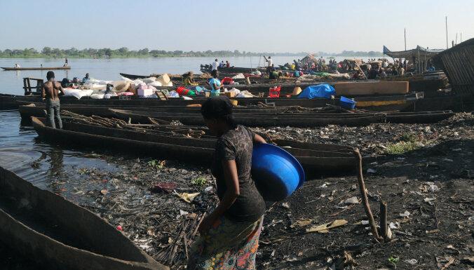 Apgāžoties laivai, Kongo DR bojā gājuši 60 cilvēki