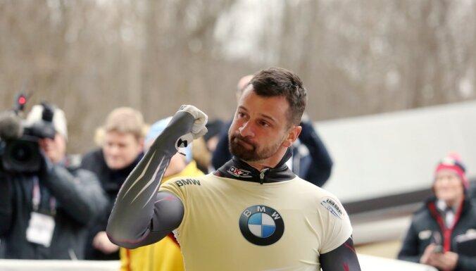 Brāļi Dukuri Siguldā ceturto reizi izcīna dubultuzvaru Eiropas čempionātā
