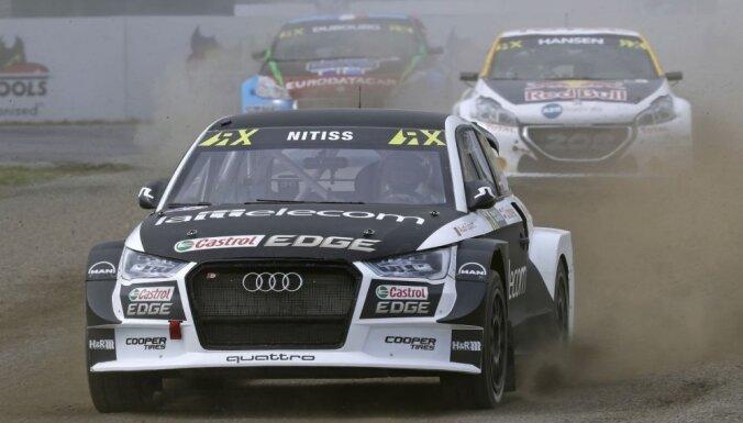 'World RX' Vācijas posma pusfinālā no Latvijas pilotiem iekļūst tikai Nitišs