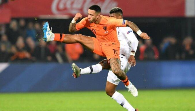 Francija cīņā pret Nīderlandi piedzīvo pirmo zaudējumu pēc Pasaules kausa