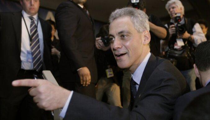 ASV prezidenta bijušais administrācijas vadītājs kļuvis par Čikāgas mēru