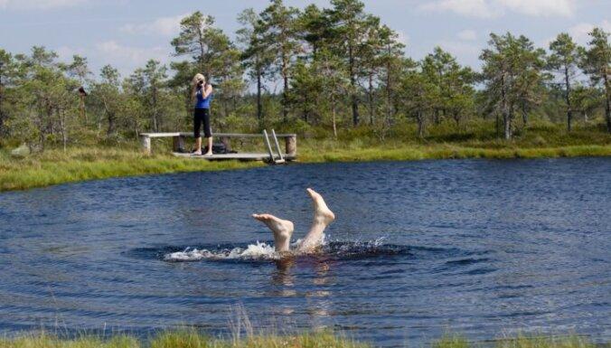 Idejas brīvdienām: skaistākie Igaunijas ezeri veldzējošai peldei