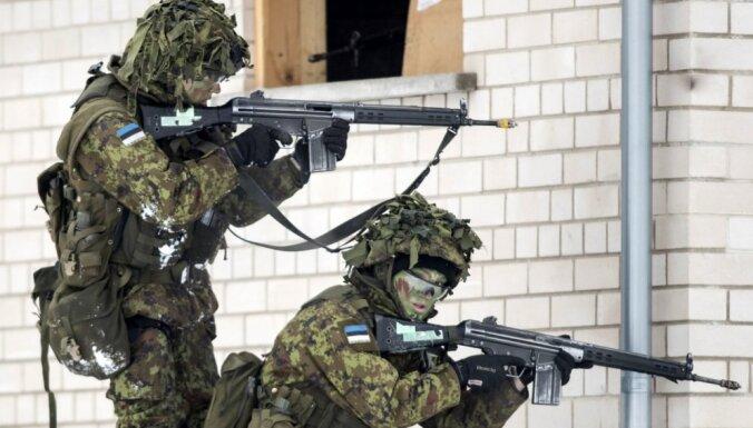 """13 стран, 9000 участников: в Эстонии начинаются учения НАТО """"Весенний шторм"""""""