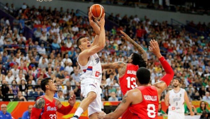Сборные Сербии, Хорватии и Франции выиграли путевки на Олимпиаду