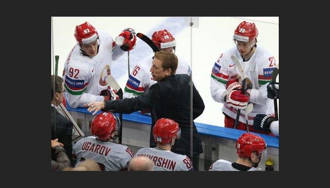 Baltkrievijas izlases galvenais treneris Henlons: Latvija ir spēcīgāka par Vāciju