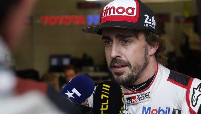 Alonso ar uzvaru debitē prestižajās Lemānas 24 stundu sacīkstēs