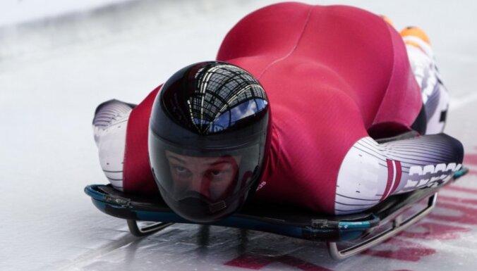 ВИДЕО: Что видят спортсмены при спуске по санно-бобслейной трассе в Сигулде