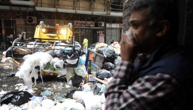 Neapoles atkritumu sāga: ES tiesa soda Itāliju ar 20 miljoniem eiro
