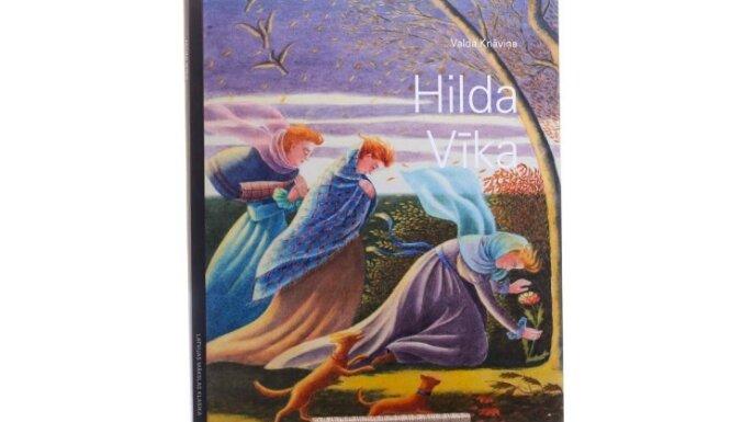 Sērijā 'Latvijas mākslas klasika' iznākusi grāmata par Hildu Vīku