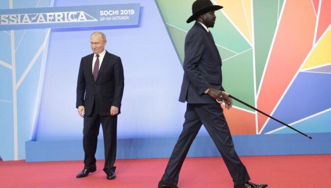 Āris Jansons: Afrikāņi krievu olimpiskajā ciematā