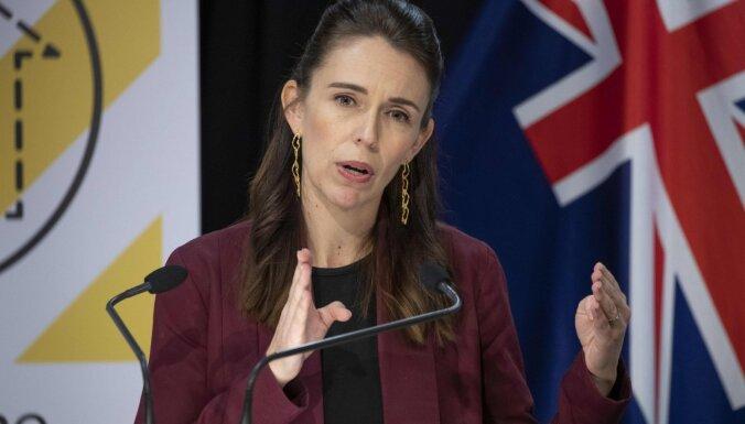 Премьер Новой Зеландии не испугалась землетрясения и продолжила телеинтервью