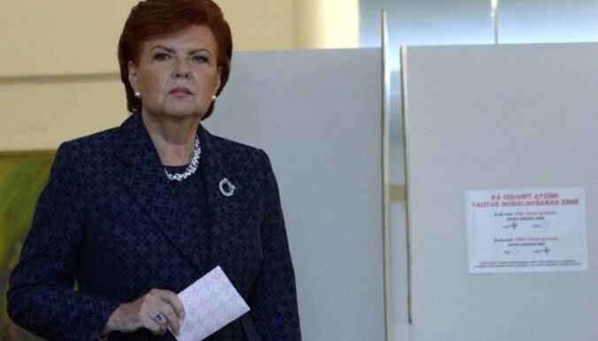 Jaunās partijas 5% barjeru Saeimas vēlēšanās nepārvarēs, uzskata bijusī prezidente
