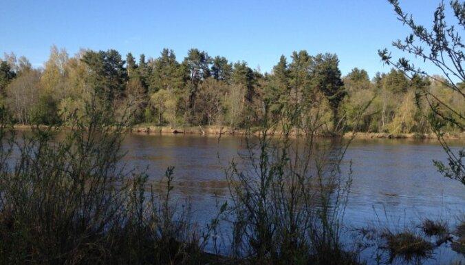 Gaujā pie Valmieras joprojām kāpj ūdens līmenis; bažas par plūdiem