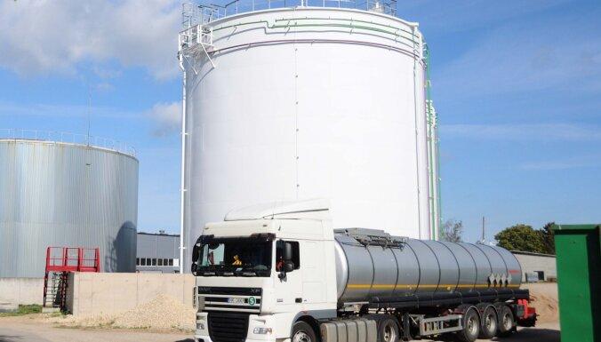 Rīgas ostā ekspluatācijā nodoti jauni piesārņoto ūdeņu glabāšanas un pārstrādes rezervuāri