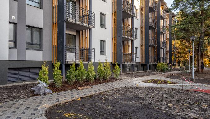 В Иманте построены две многоэтажки жилого комплекса Annas Parks