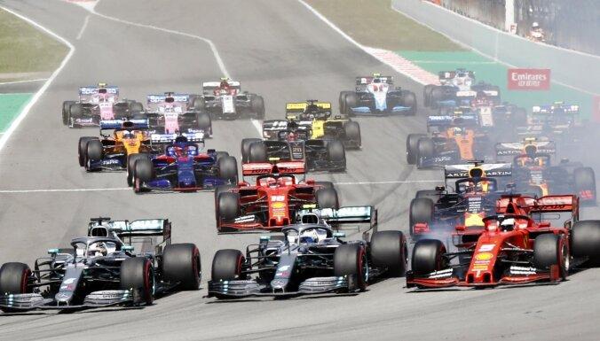 'Mercedes' piloti turpina dominēt šajā F-1 sezonā