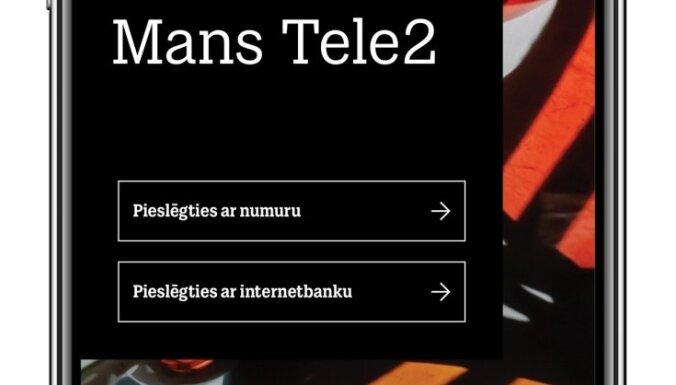 Tele2 усовершенствует мобильное приложение за 150 000 евро