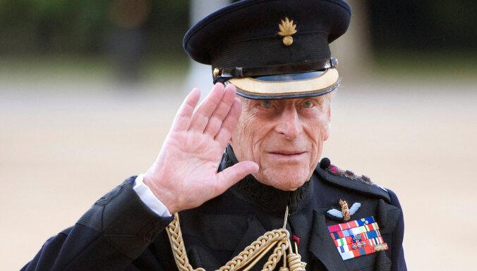 99 gadu vecumā miris Lielbritānijas princis Filips