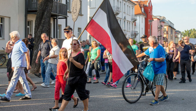Vācijas impērijas sagrāvi neatzīstošo 'Reiha pilsoņu' skaits sasniedzis 19 000