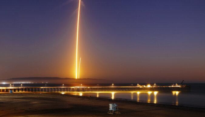 Космическое такси Маска вызвало слухи в Калифорнии об инопланетном вторжении