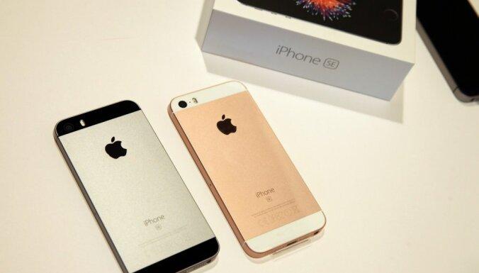 Продажи iPhone упали из-за вялого спроса на последние модели