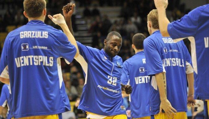 'VEF Rīga' un 'Ventspils' basketbolisti piedzīvo zaudējumus Eiropas kausa turnīrā