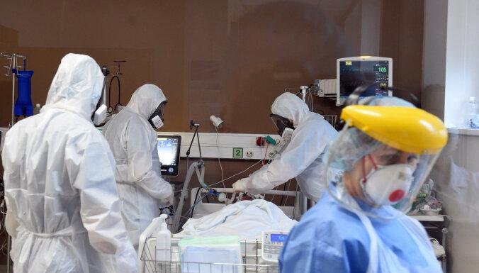 Впервые с декабря в латвийских больницах лечатся менее 800 пациентов с Covid-19