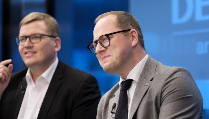 Noziedzība pret valsti un mazbudžeta seriāls — partijas par Gobzema valdību
