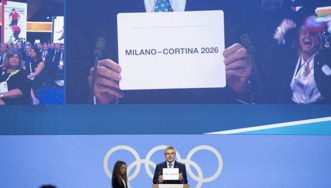 Stokholma un Sigulda netiek pie 2026. gada ziemas olimpisko spēļu rīkošanas