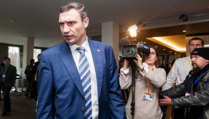 Митинг в Киеве: Виталя (Кличко), давай, до свидания (ВИДЕО)