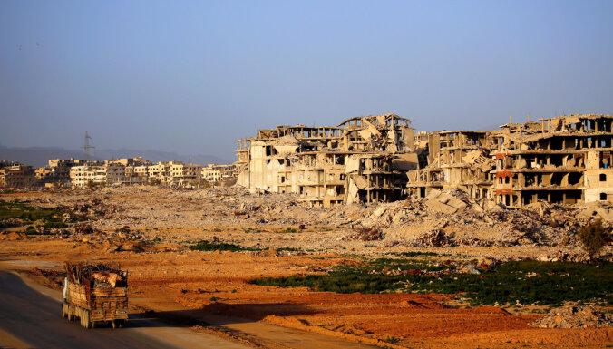 Sīrijas pilsoņkarā dzīvību zaudējis teju pusmiljons cilvēku, informē SOHR
