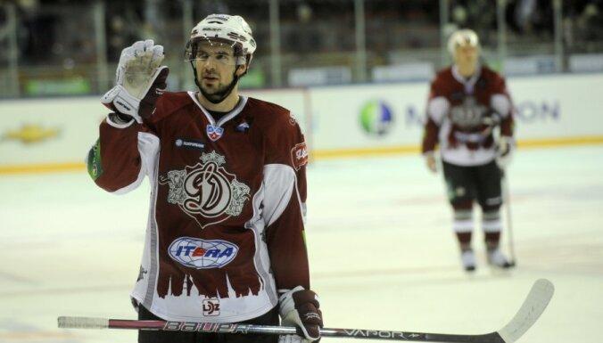 Rīgas 'Dinamo' beidzot pārtrauc zaudējumu sēriju