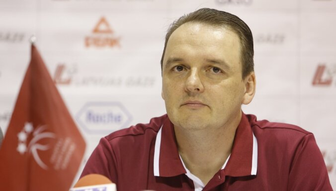 Mārtiņš Zībarts pēc uzvaras pret Čehiju: labi spēlējām aizsardzībā