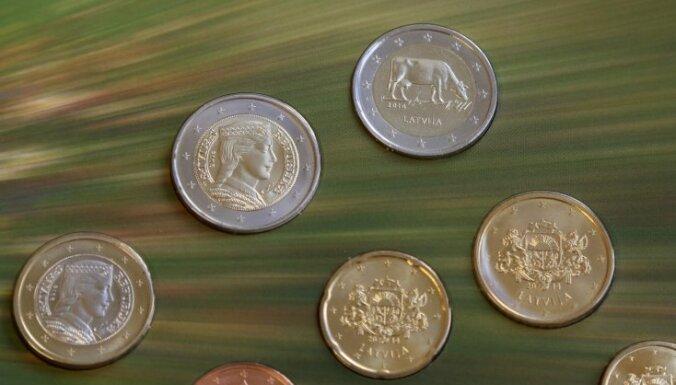 Foto: Laiž apgrozībā piemiņas monētu ar govs attēlu