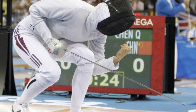 Rubļevska un Jefremenko neveiksmīgi aizvada pasaules čempionātu paukošanā