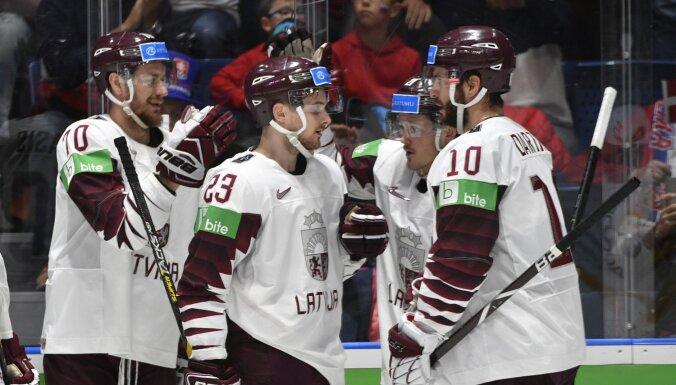 Latvijas hokejistu pretinieki – pasaules čempione Somija, Krievija un mājiniece Šveice