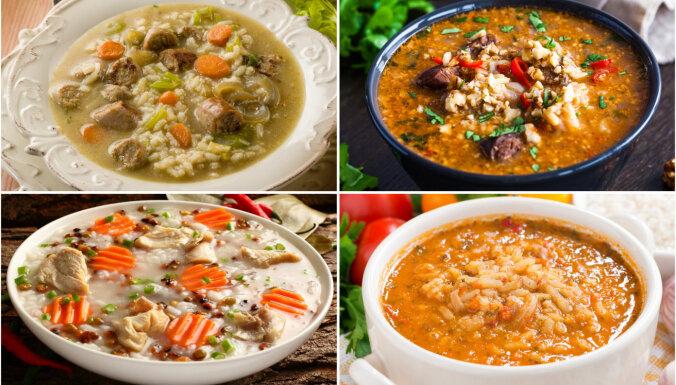 Sātīgās rīsu zupas: 21 kārdinoša recepte vakariņu laikam