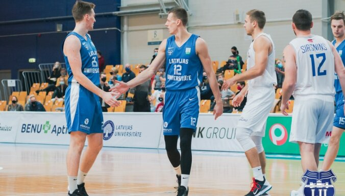 Atcelta spēle starp 'Latvijas Universitāti' un BK 'Ogre'