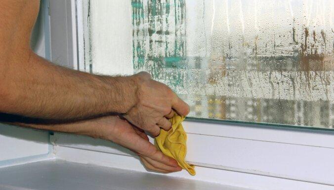 Vai uz logiem ir pelējums, kondensāts, veļa neizžūst? Padomi, kā atbrīvoties no mitruma