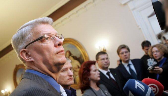 """ПРЗ решила создать коалицию с """"Единством"""" и ЦС; в премьеры зовет Домбровскиса"""