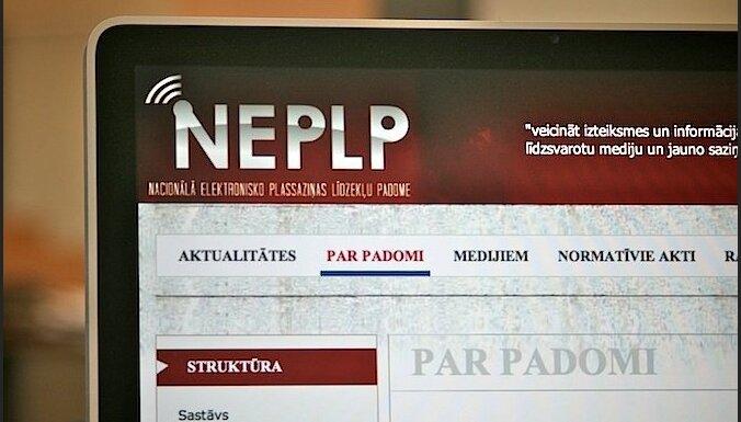 Saeimas deputātiem jāturpina stiprināt informatīvo telpu, uzskata NEPLP
