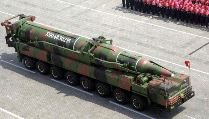 СМИ: ракета КНДР пролетела более 900 километров