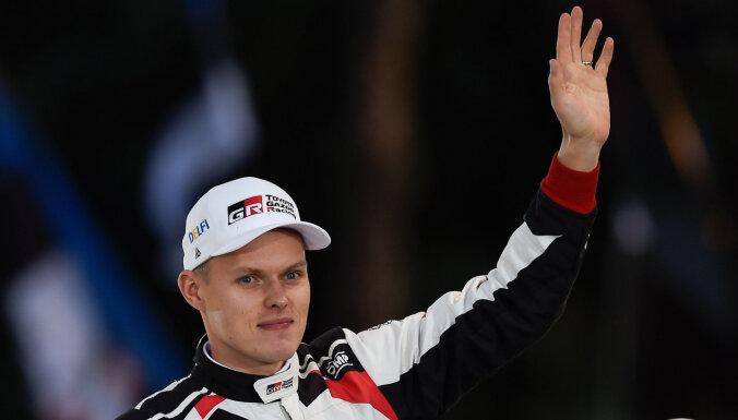 Tanaks izcīna Igaunijai vēsturisku WRC čempiontitulu