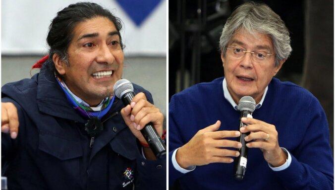 Ekvadora veiks prezidenta vēlēšanu balsu daļēju pārskaitīšanu
