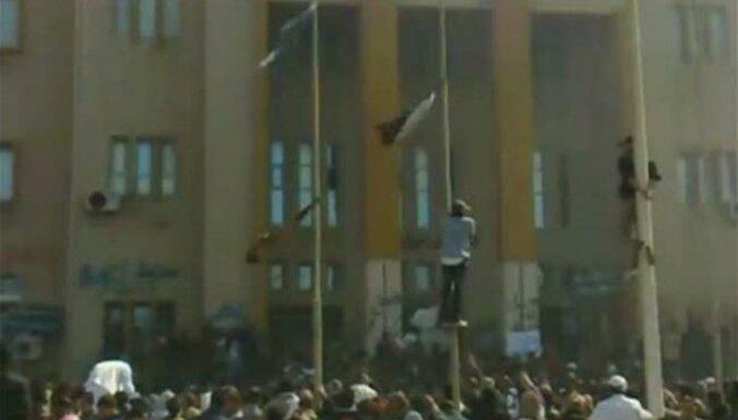 Демонстрантов в Бенгази власти атаковали с воздуха