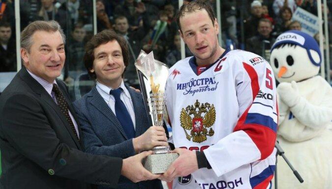 Krievijas hokeja izlasē iekļauti septiņi NHL spēlētāji