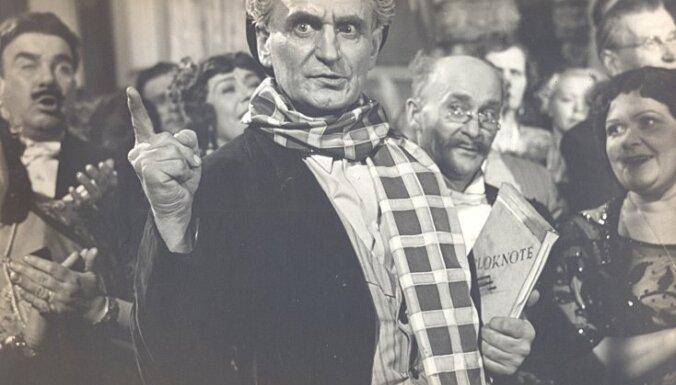 Teātra muzejā notiks aktierim Luijam Šmitam veltīts pasākums