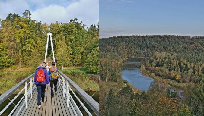 Piedāvā iespēju doties izaicinošā kalnu simulācijas pārgājienā pa Siguldu