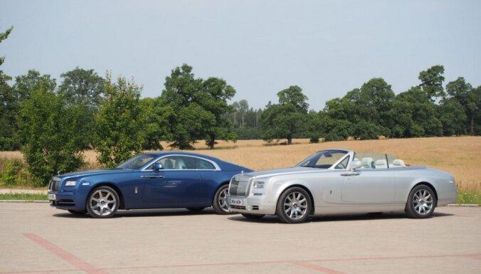 В странах Балтии появится официальное представительство Rolls-Royce