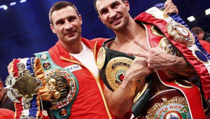 Накануне боя с Поветкиным Кличко сломал нос спарринг-партнеру